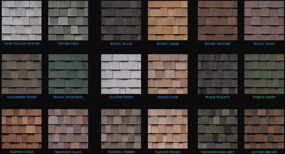 Roofing Shingles Options