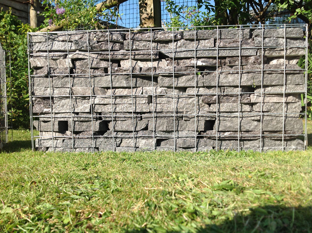 Gabion Filled with Granite