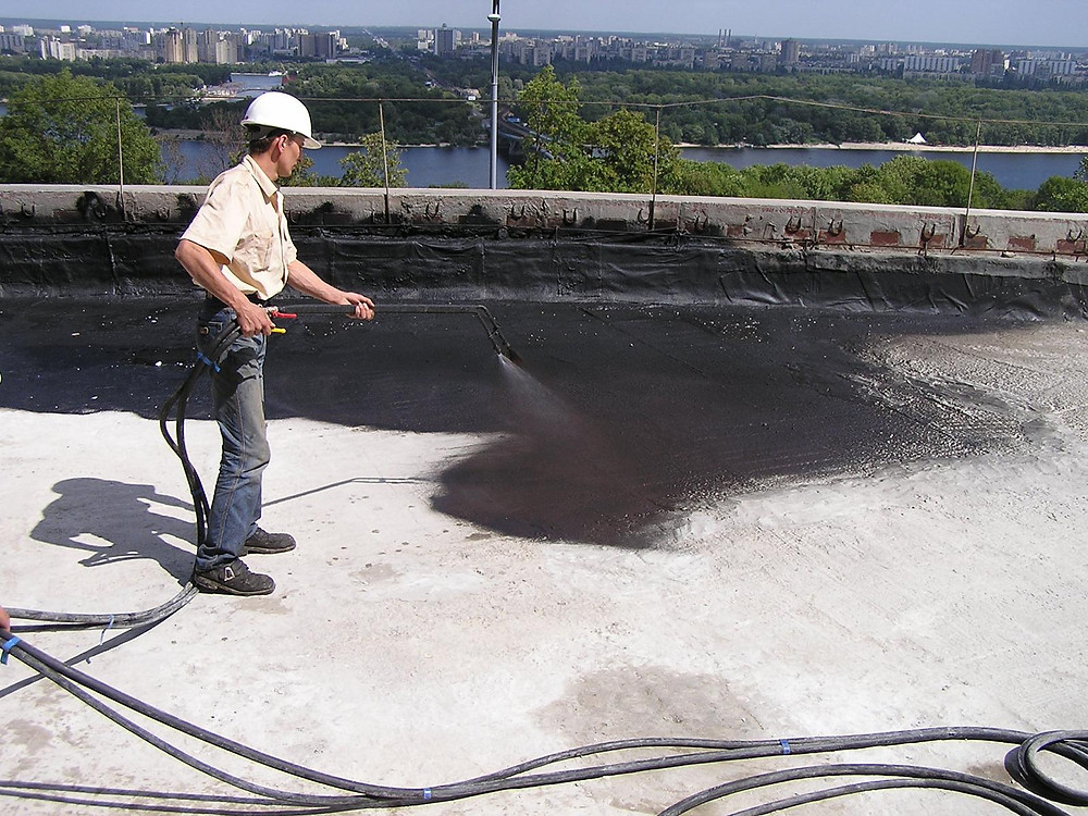 Spray on Waterproofing Membrane