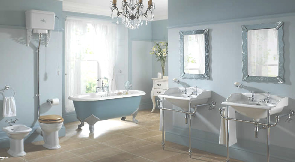 Bathroom Design with Sunlight