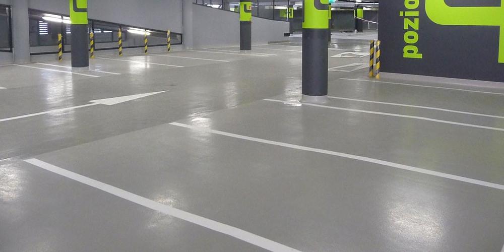 Concrete floor for car park Malaysia