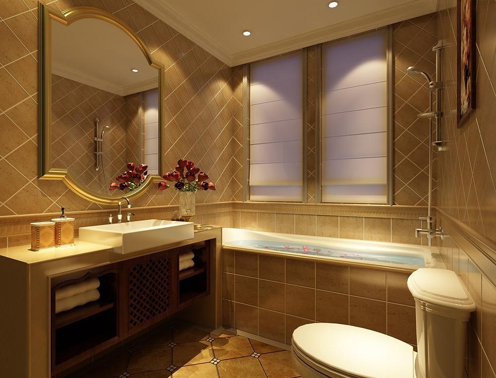 Small Hotel Bathroom Design