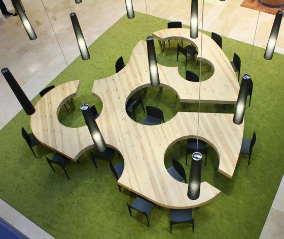 Unique office table design Malaysia