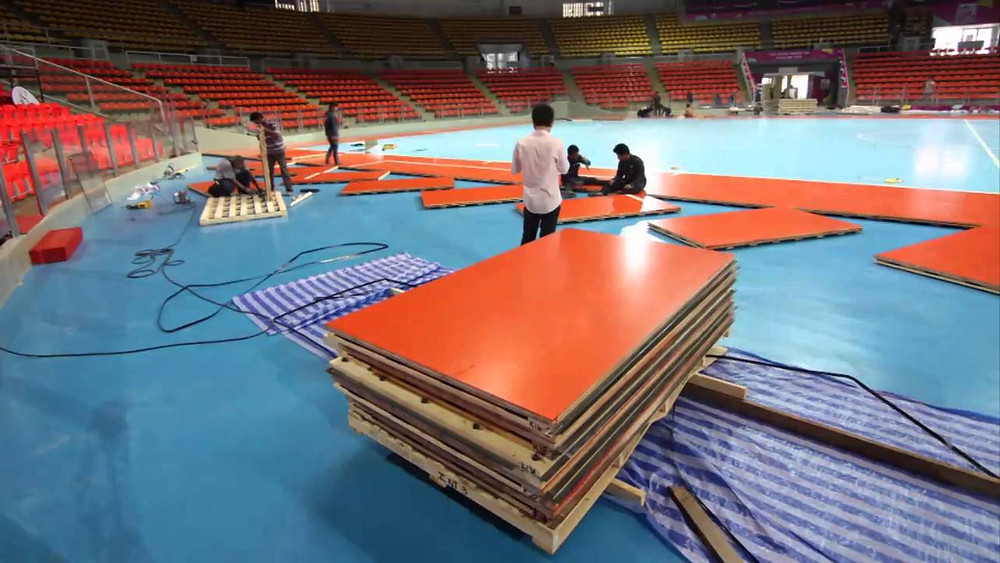 Sport Floor Contractor Malaysia