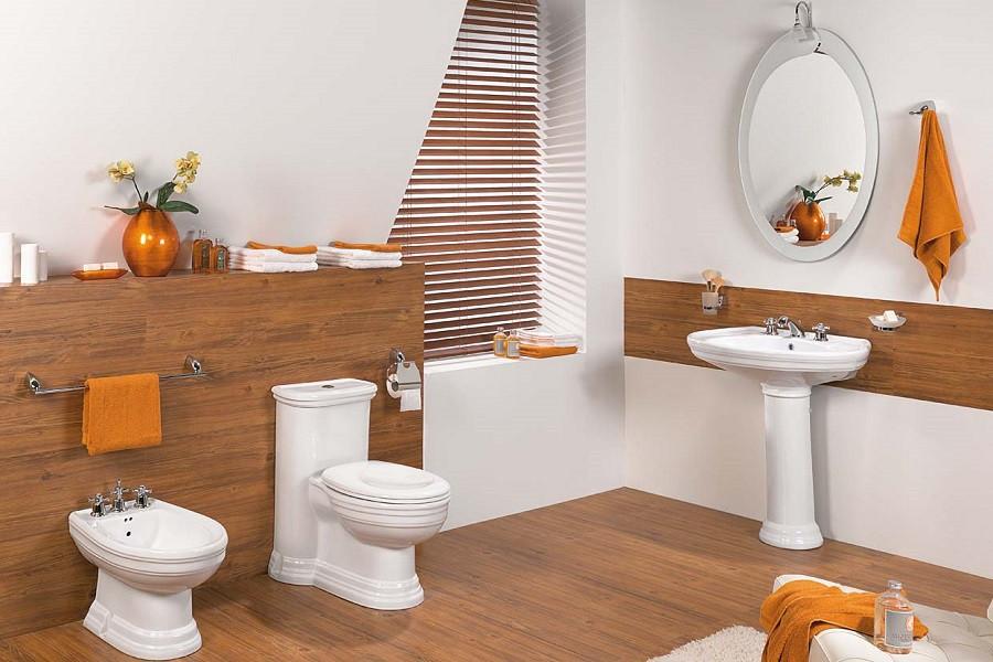 Wooden Design Toilet