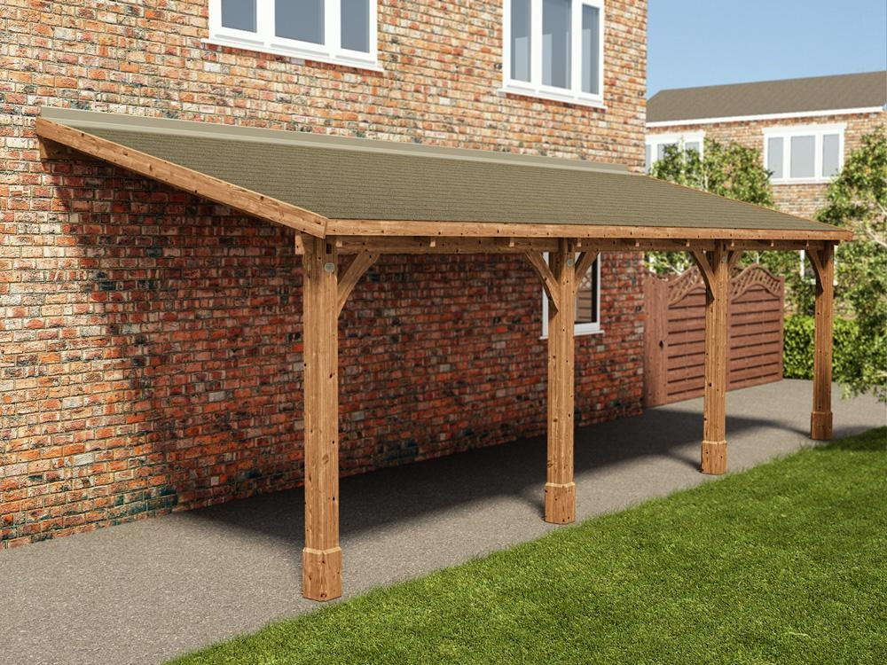 Wooden Frame Awning