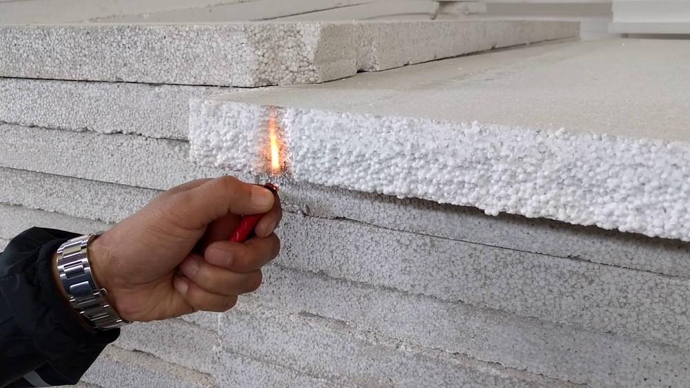 Expanded Polystyrene Foam (EPS) Fireproof