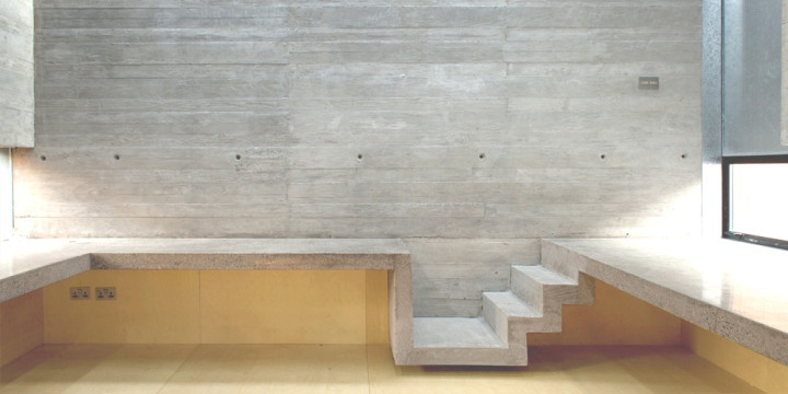 Raw Concrete Interior