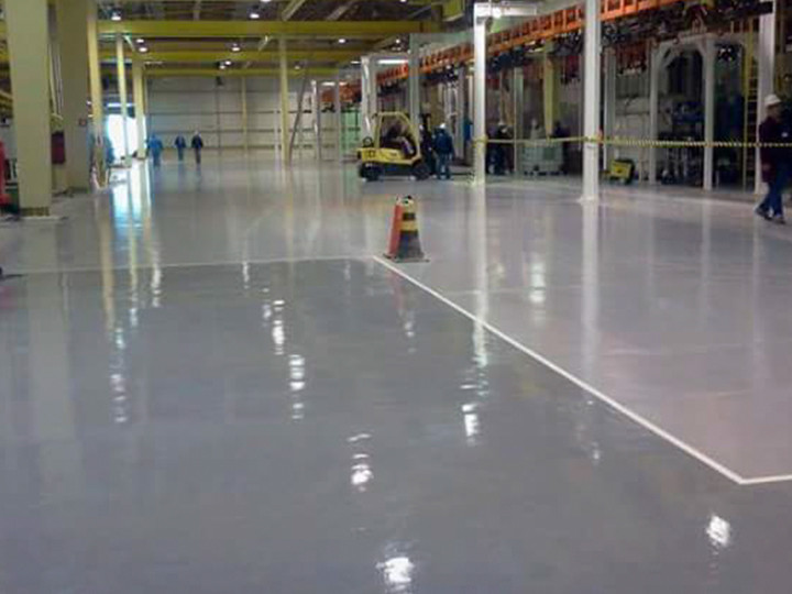 Industrial PU Flooring Supplier Malaysia