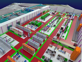 Operation Flow Design & Build Contractor | Office & Production Plant