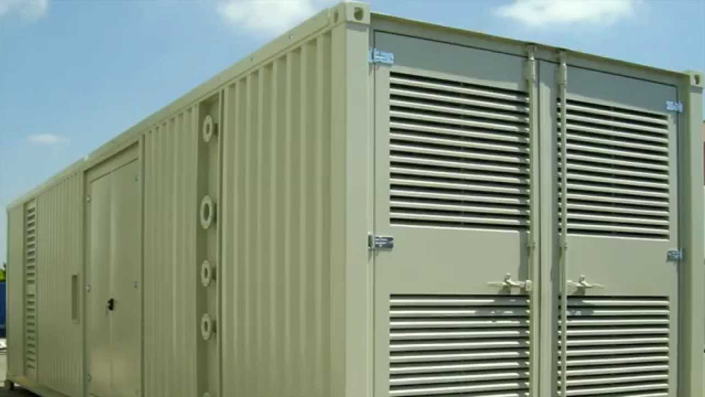 Soundproof Genset Room Container Malaysia
