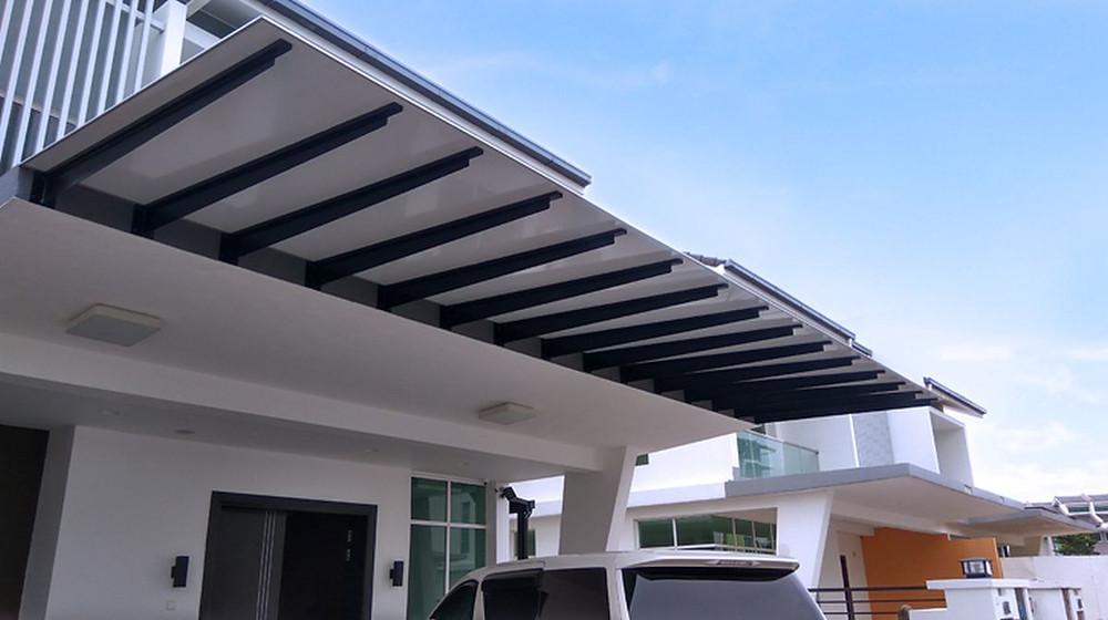 Aluminium Composite Awning Malaysia