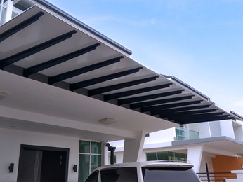 Aluminium Awning Malaysia | Supplier and Contractor