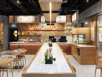 Fast Food Restaurant Design | Dine-in & Takeaway