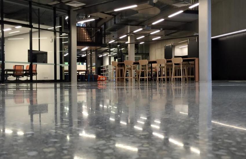 Retail Polished Concrete Floor Malaysia