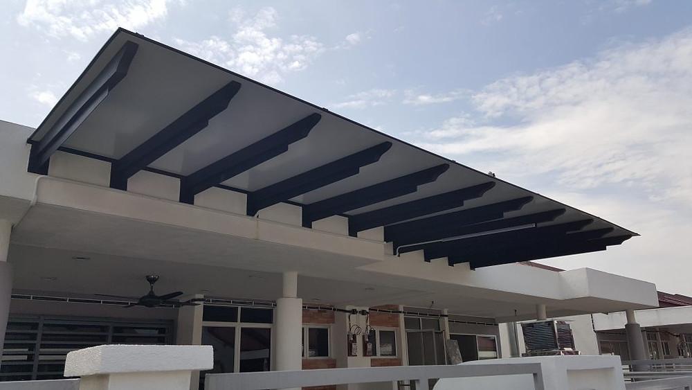 Aluminium Composite Roof Panel Contractor