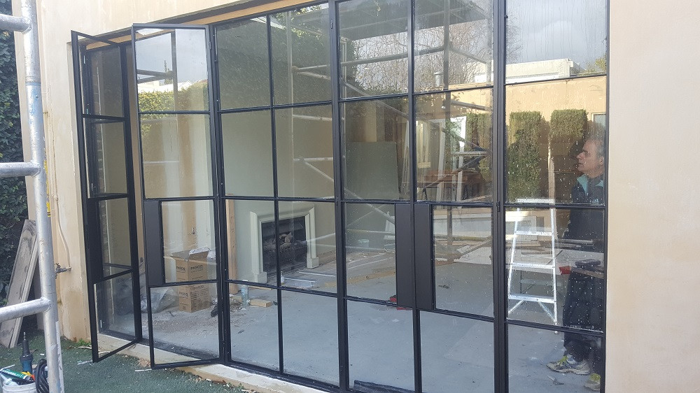 Steel Door Window Frame Contractor Malaysia
