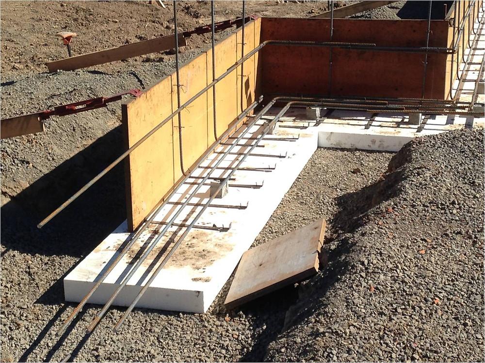 Foam Concrete Foundation