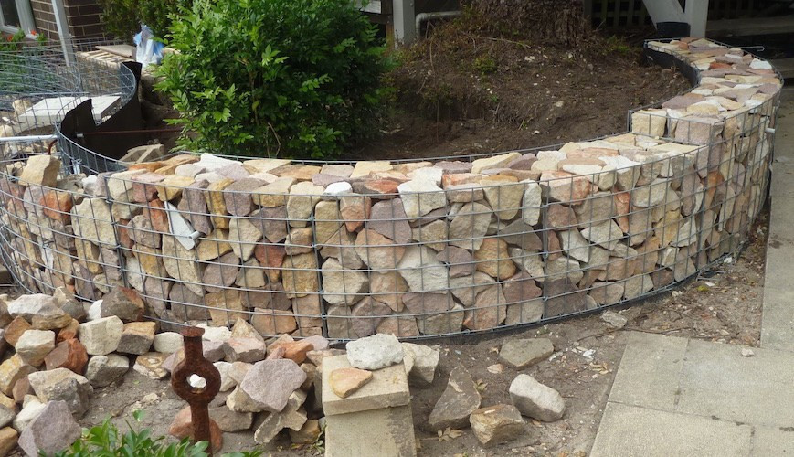 Curved Gabion Wall Specialist Malaysia