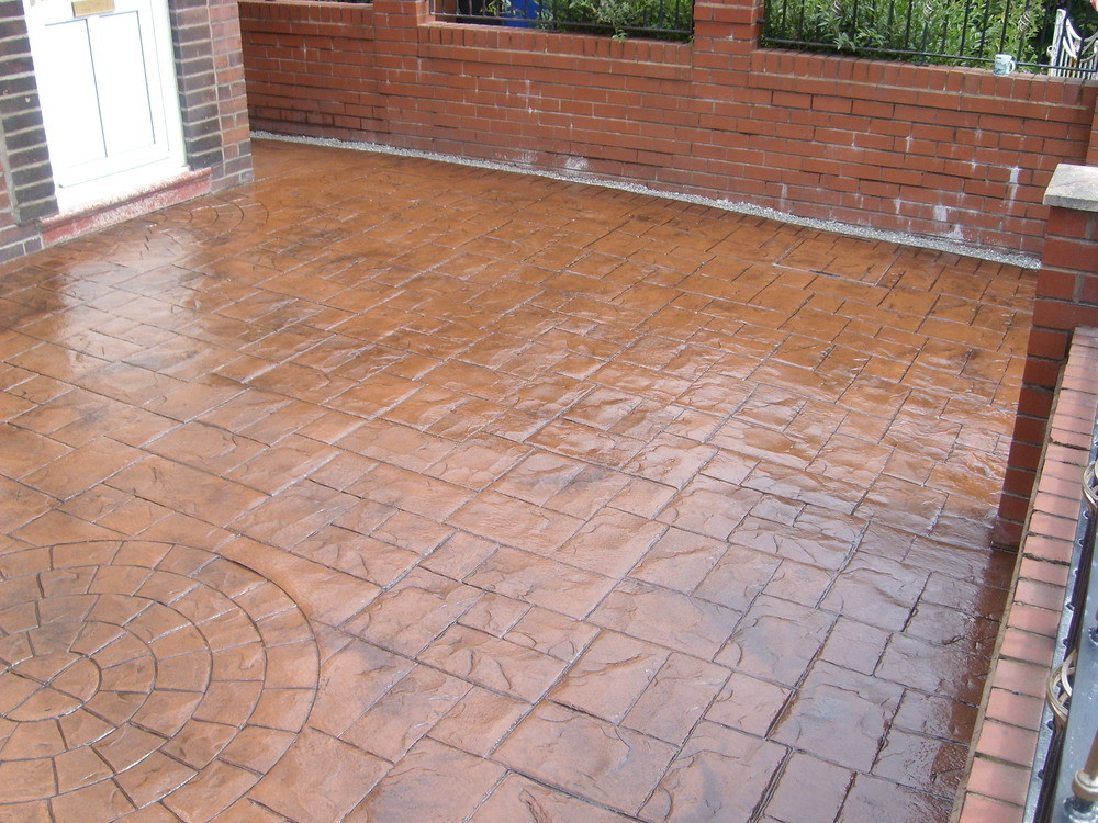 Stamped Concrete Floor Contractor Malaysia