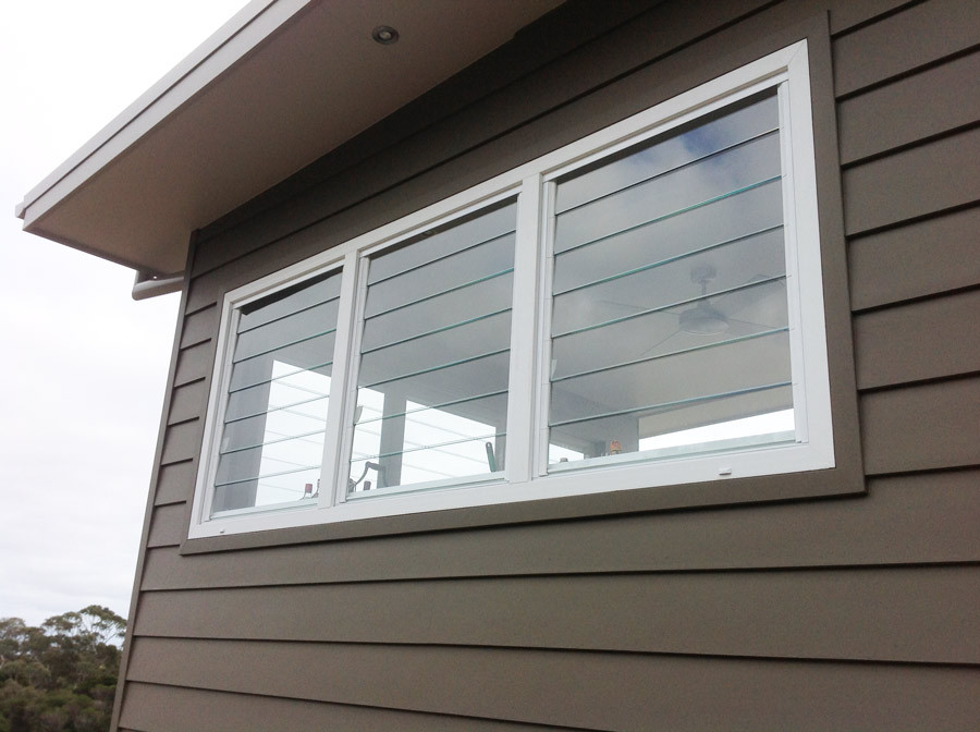 Louver uPVC Glass Windows Malaysia