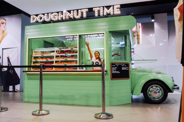 Doughnut Truck Cart Contractor Malaysia