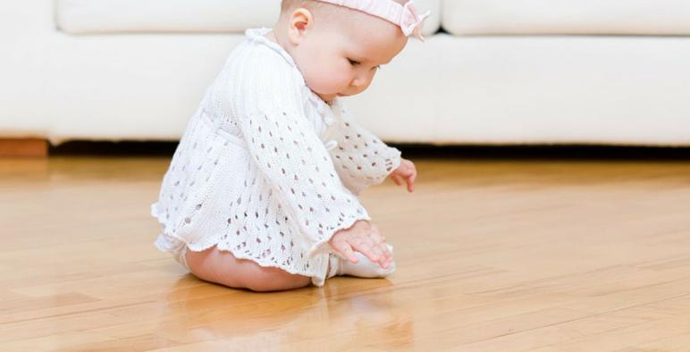 Safe Vinyl Floor for Baby