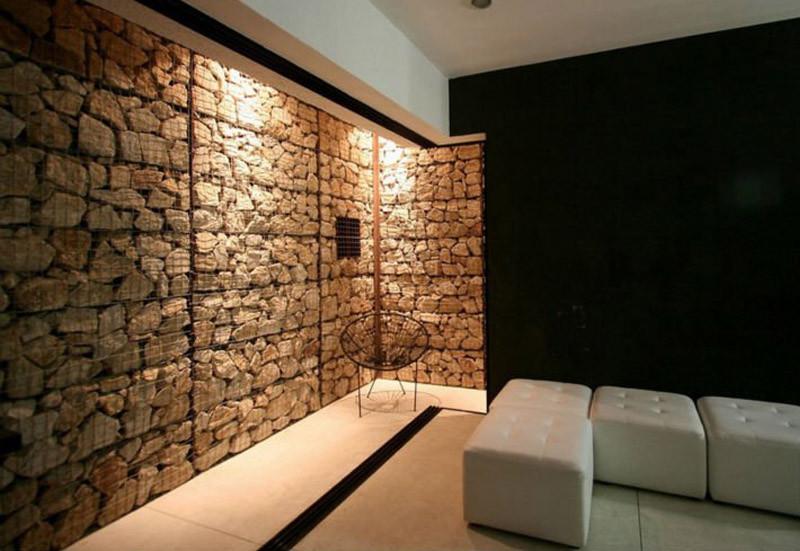 Architectural Gabion Facade