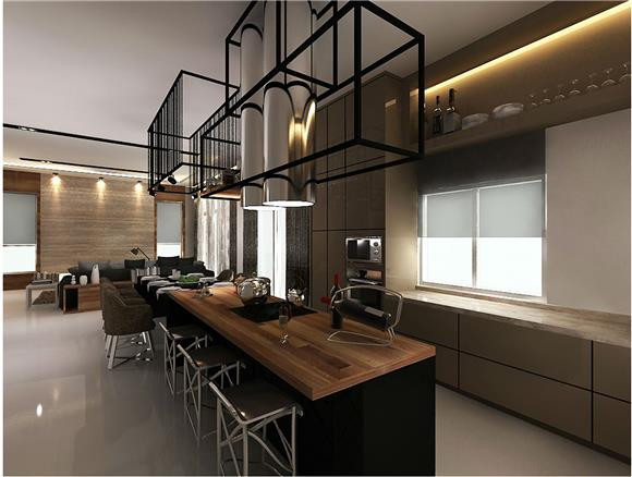 Dry Kitchen Design Malaysia
