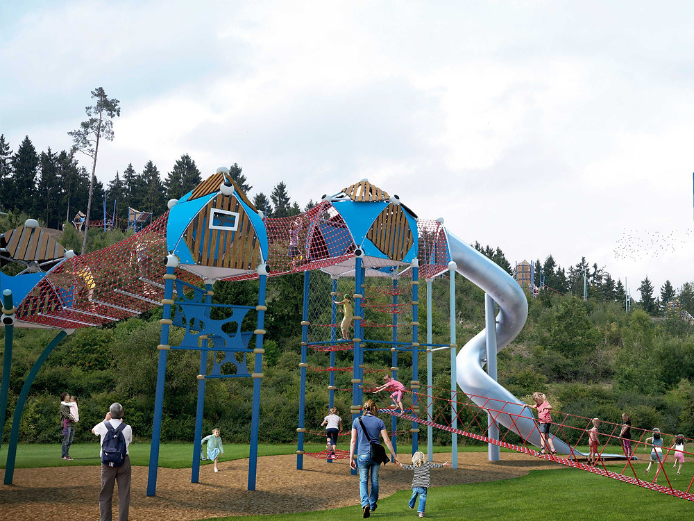 HDPE Playground Contractor Malaysia