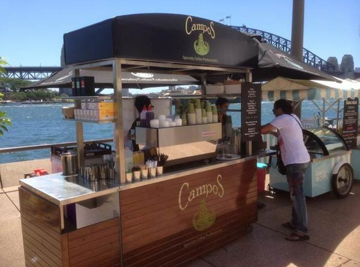 Outdoor Coffee Cart Contractor Malaysia