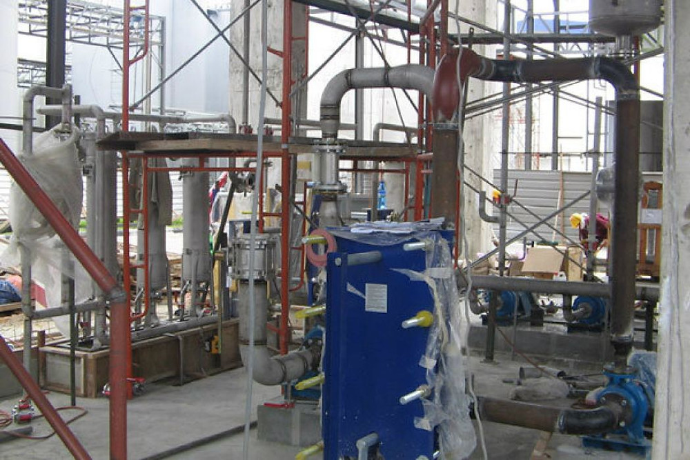 Palm Oil Processing Plant Contractor Malaysia