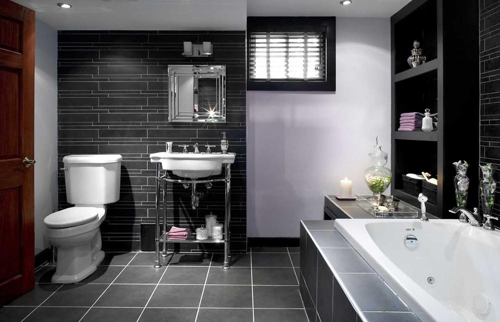 Bath Tub Bathroom Design