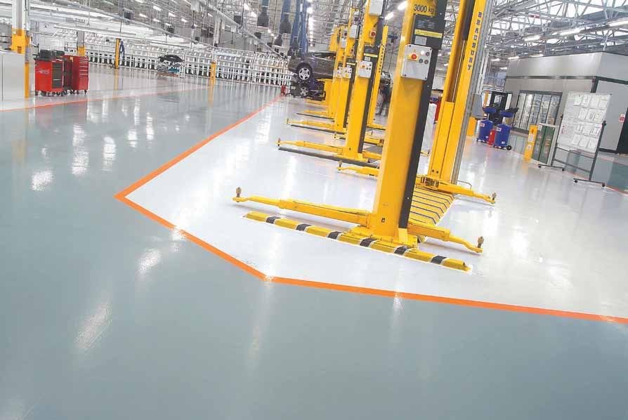 Resin Floor Contractor Malaysia