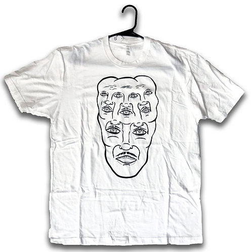 Faces Tee - White
