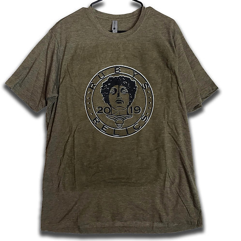Olive Black/White RR Coin - Size Large