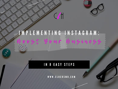 IMPLEMENTING INSTAGRAM TO BOOST YOUR BUS