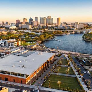 Armature Works and Tampa Riverwalk