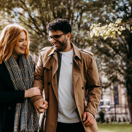 A love story portrait session with Abi & Andy