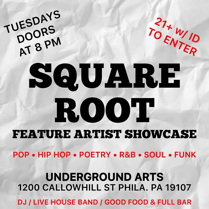 Square Root Tuesdays @ Underground Arts