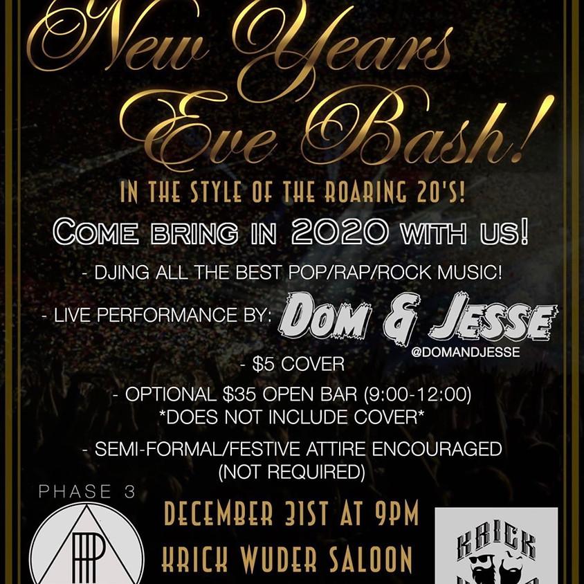 New Years Eve Bash! @ Krick Wuder