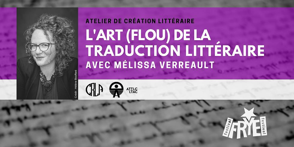 L'art (flou) de la traduction littéraire