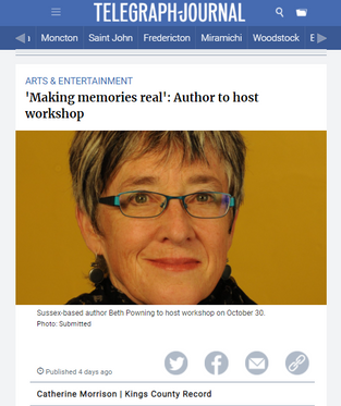'Making memories real'_ Author to host workshop _ Kings County Record - Google Chrome 2021