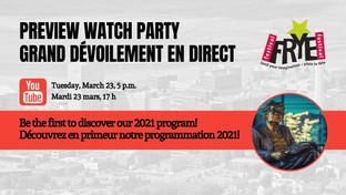 Preview Watch Party | Grand dévoilement en direct