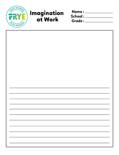 Frye Festival's Imagination at Work story template
