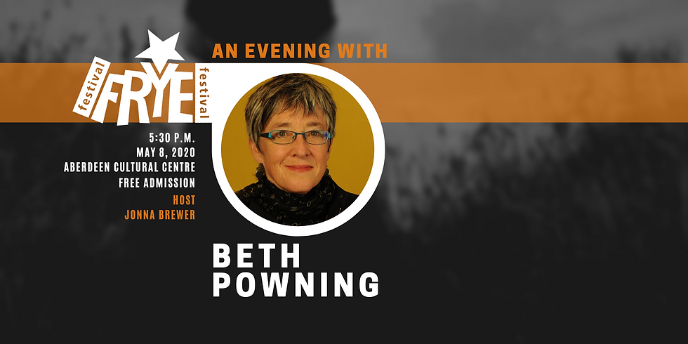 An Evening with Beth Powning