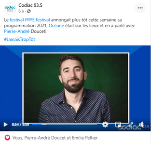 Codiac 93.5
