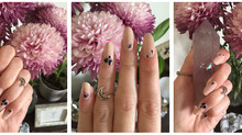 Floral spell nails ritual —