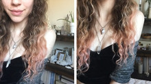 Naturally tint your hair pink!