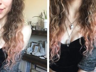 Naturally tint your hair pink!